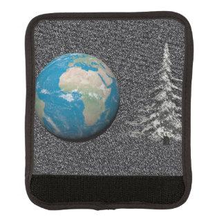 Protège Poignée Pour Bagage Noël et neige du monde