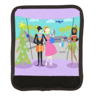 Protège Poignée Pour Bagage Rétro enveloppe hawaïenne de poignée de bagage de