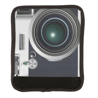 Protège Poignée Pour Bagage Vieil appareil-photo noir