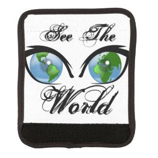 Protège Poignée Pour Bagage Voyez le monde