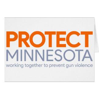 Protégez la carte du Minnesota