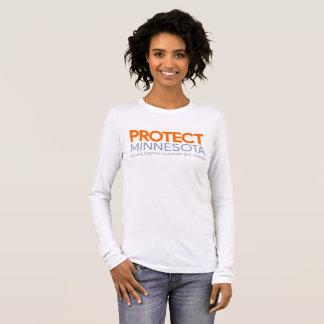 Protégez T-shirt de douille de logo du Minnesota
