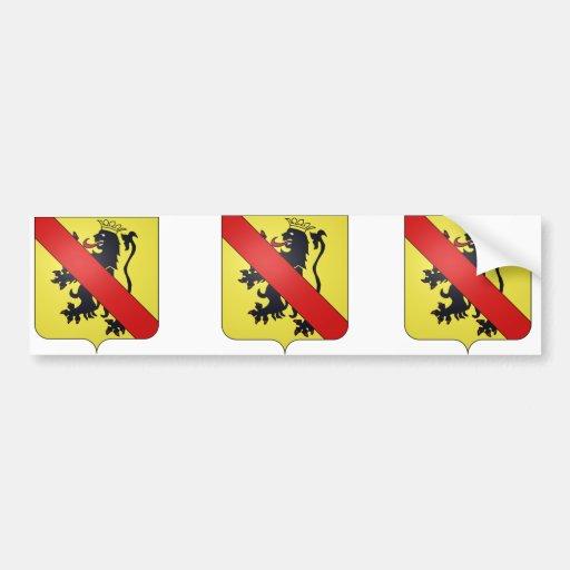 prov de Namur, Belgique Autocollant Pour Voiture