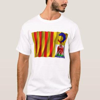 Provence-Alpes-Côte d'Azur ondulant le drapeau T-shirt