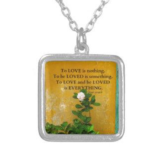 proverbe de Grec de citation d'amour de Collier
