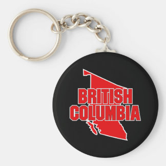 Province de Colombie-Britannique Porte-clés