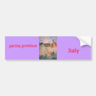 province Italie de Parme Autocollant De Voiture