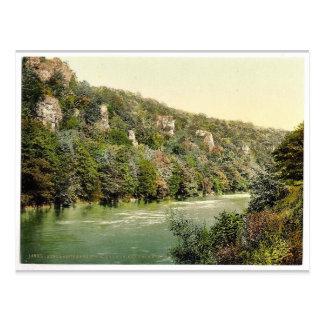 Proximité de sept roches des soeurs, montage en carte postale