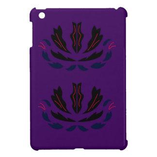 PRUNE POURPRE vintage   d'ornements pourpres Étui iPad Mini