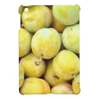 Prunes jaunes macro étuis iPad mini