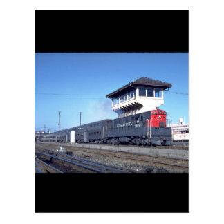 "PS Fairbanks-morse ""Trainmaster_Trains Carte Postale"