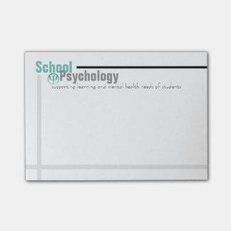 Psychologie Teal d'école et notes de post-it Post-it®