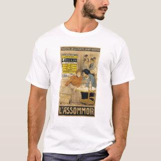 Publicité par affichage L'Assommoir par M.M.W. T-shirt