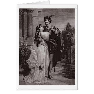 """Publicité pour """"Romeo et Juliet"""", à l'opéra Carte De Vœux"""