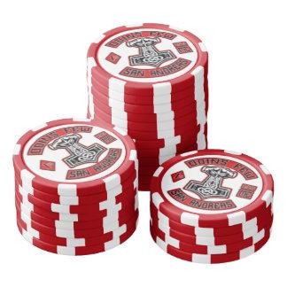 Puces d'OFMC Jetons De Poker