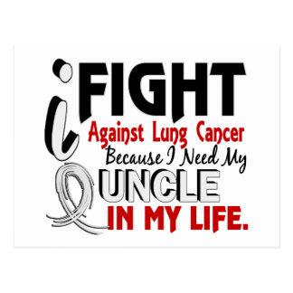 Puisque j'ai besoin de mon cancer d'oncle poumon carte postale
