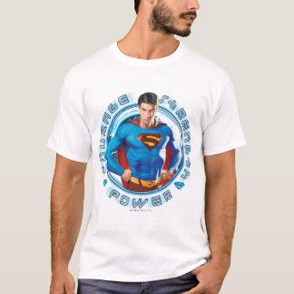 Puissance de force de courage de Superman T-shirt