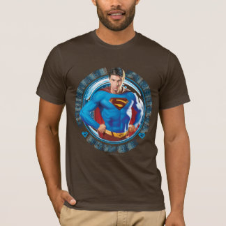 Puissance de force de courage de Superman T-shirt