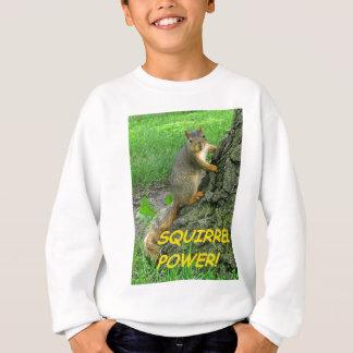 Puissance d'écureuil ! sweatshirt