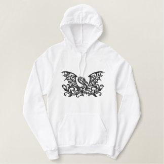 Pull À Capuche Brodé Dragon à ailes