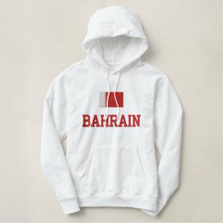 Pull À Capuche Brodé Drapeau du Bahrain