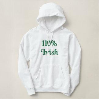 Pull À Capuche Brodé Irlandais de 110%