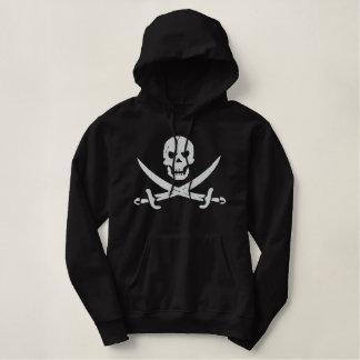 Pull À Capuche Brodé Pirate