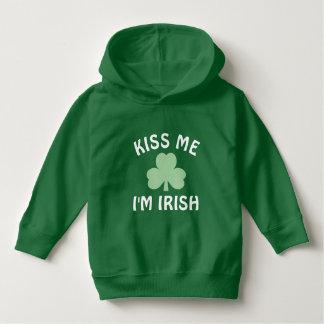 Pull À Capuche Embrassez-moi jour de | St Patrick