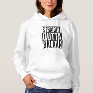 Pull À Capuche outta droit Balkan