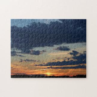 Puzzle 4 juillet coucher du soleil 2016