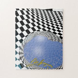 Puzzle 5 passés Checkered