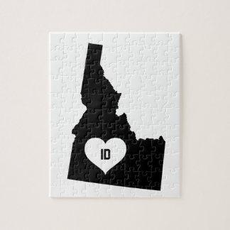 Puzzle Amour de l'Idaho