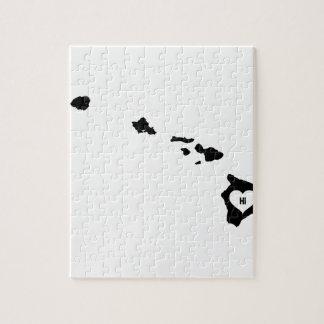Puzzle Amour d'Hawaï