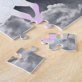 Puzzle Ange de licorne d'imaginaire