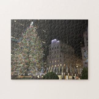 Puzzle Arbre central de Noël NYC Rockefeller de New York