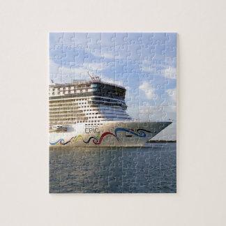 Puzzle Arc décoré de bateau de croisière
