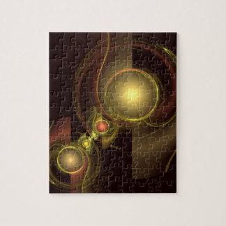 Puzzle Art abstrait de connexion intime