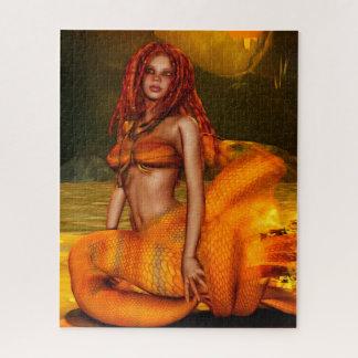"""Puzzle Art d'imaginaire de """"Coraleen"""" de série de sirène"""
