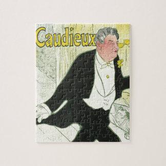Puzzle Art vintage Nouveau, Caudieux par Toulouse Lautrec