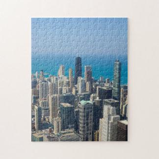 Puzzle Au-dessus de Chicago