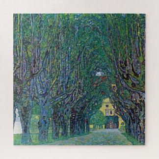Puzzle Avenue en parc de Schloss Kammer par Gustav Klimt