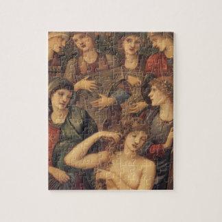 Puzzle Bath de Vénus par monsieur Edouard Coley Burne
