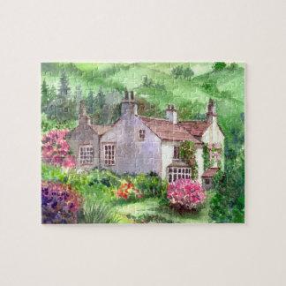 Puzzle Bâti de Rydal, couleur pour aquarelle à la maison