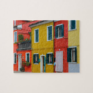 Puzzle Bâtiments de Burano Italie