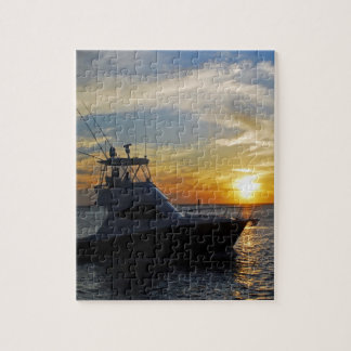 Puzzle Beau coucher du soleil