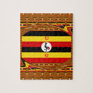 Puzzle Beau Hakuna extraordinaire Matata bel Ouganda Colo