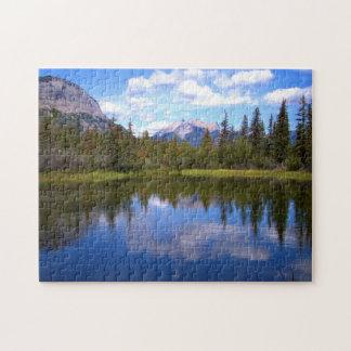 Puzzle Beau paysage de lac