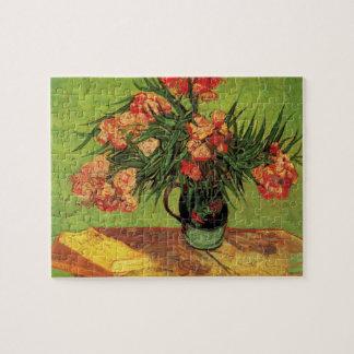 Puzzle Beaux-arts de Van Gogh, vase avec des oléandres et