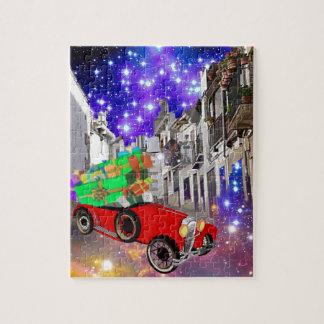 Puzzle Belle abondance de voiture des cadeaux sous la