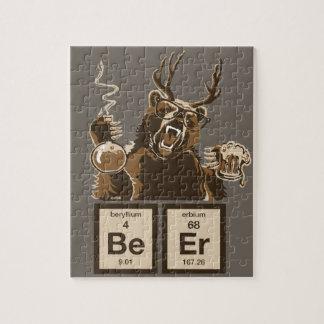 Puzzle Bière découverte par ours de chimie